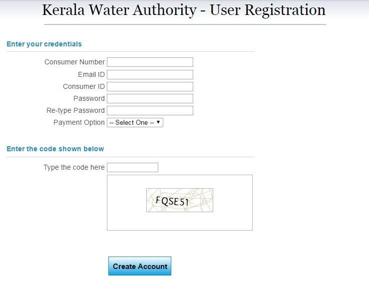 kwa user registration