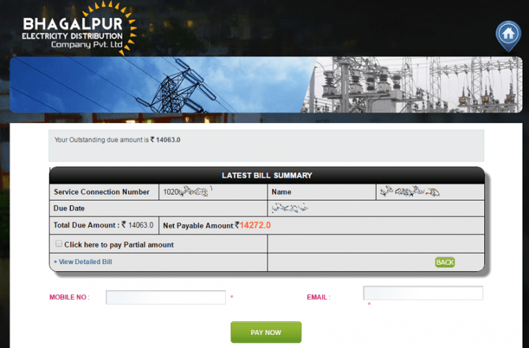 BEDCPL Online Bill Payment | Bhagalpur Electricity Distribution Company Bill Online Payment