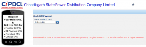 CSPDCL Online Bill Payment – Quick Pay Chhattisgarh State Power Distribution Company Bill Online