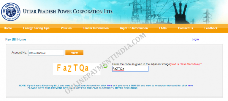 UPPCL Online Bill Payment – Quick Pay UP Electricity Bill