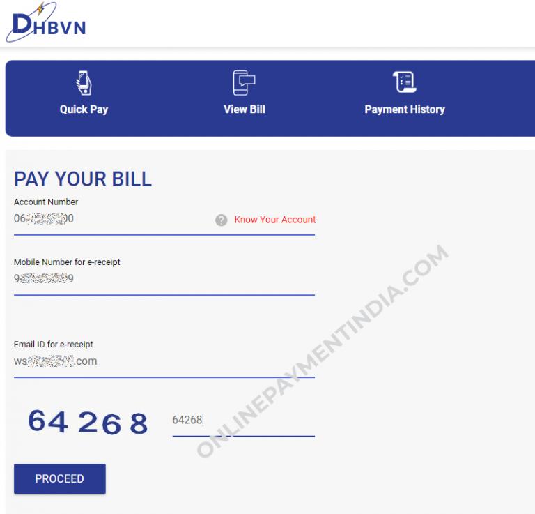DHBVN – Haryana Electricity Online Bill Payment
